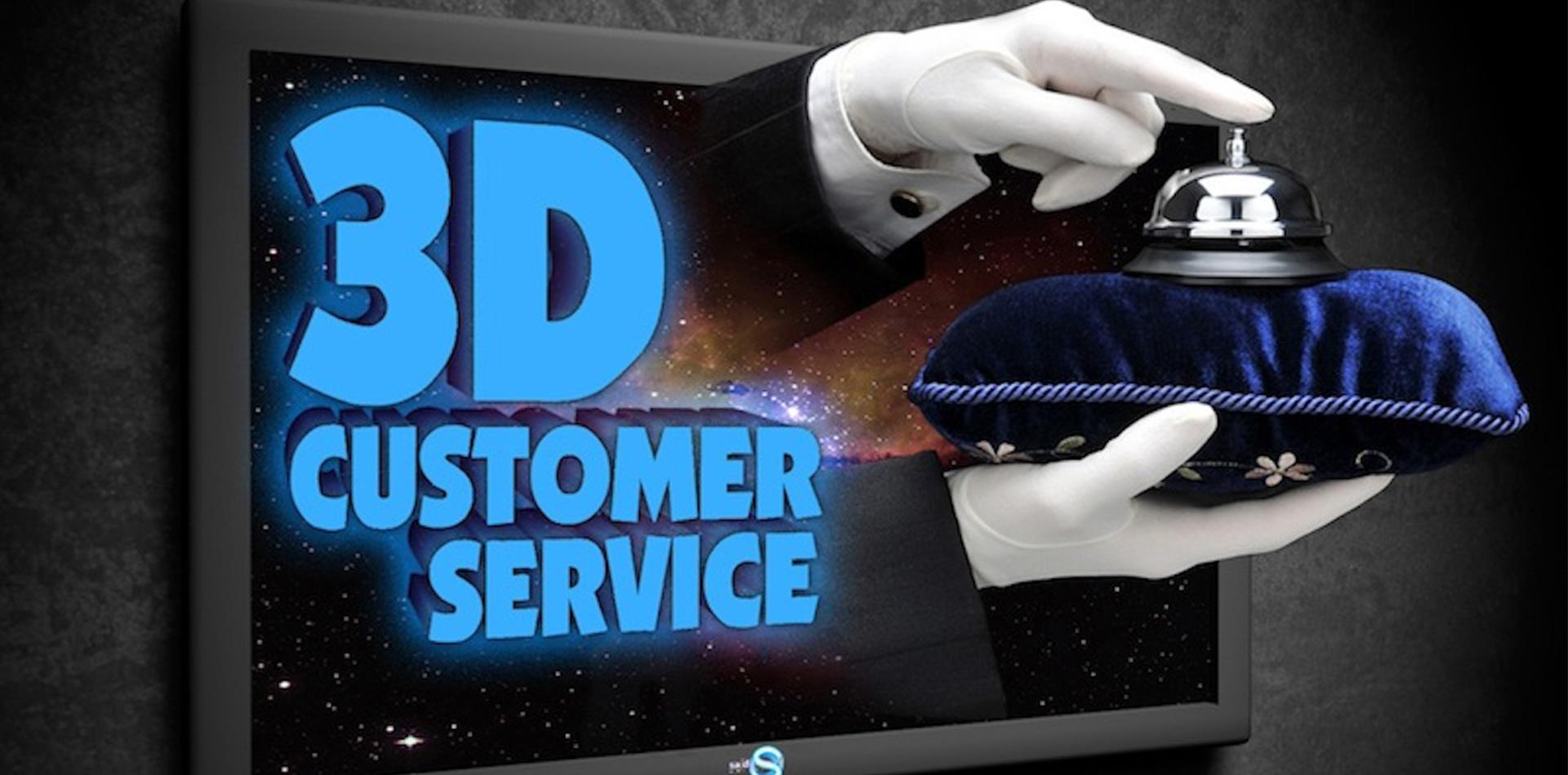 3D-Customer-Service